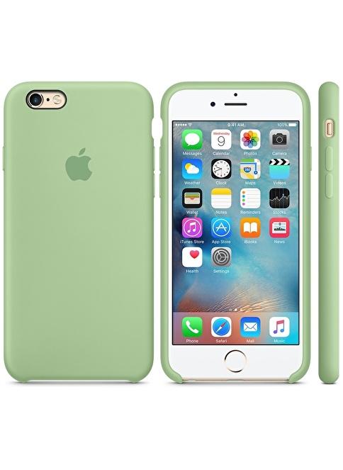 Jacobson Apple iPhone 6/6S Sert Silikon Kılıf Yeşil